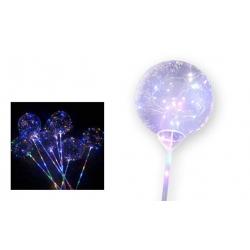 LED svietiace balónik 5 ks