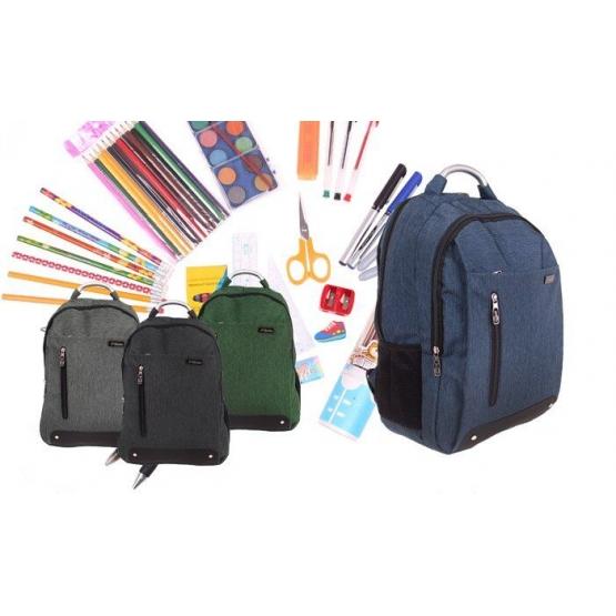 Batoh Advanced s náplňou školských potrieb