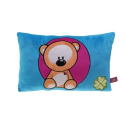 Farebný vankúšik s medvedíkom