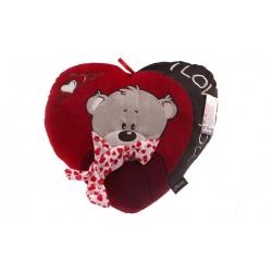 Červený vankúšik srdce