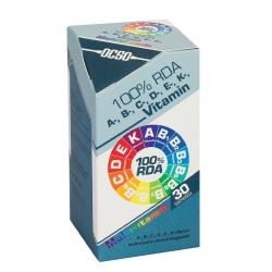 Ocso 100% RDA A, B, C, D, E, K vitamín 30 tbl.