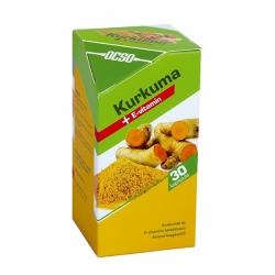 Ocso Kurkuma + vitamín E 30 tbl.