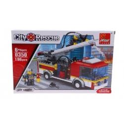 Detská stavebnica hasičské auto