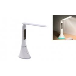 Stolná lampička s LCD displejom