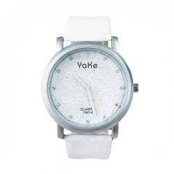 YaKe Dámske náramkové hodinky s glitrami