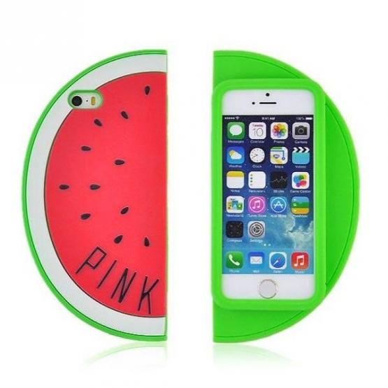 Puzdro na mobil melón - červený