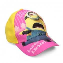 Detská šiltovka Mimoni - Knows karate - žltá