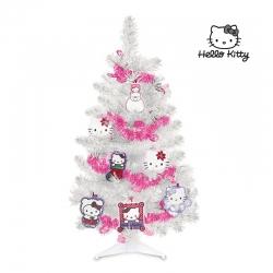 Hello Kitty vianočný stromček s ozdobami