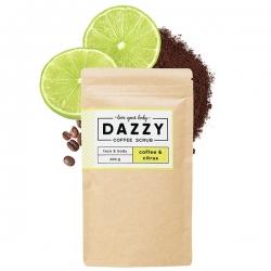 DAZZY Kávový peeling s citrusmi 200 g