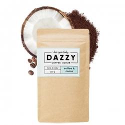 DAZZY Kávový peeling s kokosom 200 g