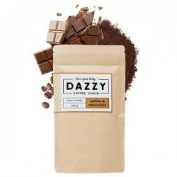 DAZZY Kávový peeling s čokoládou 200 g