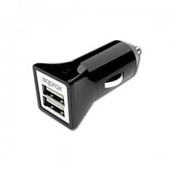 USB Nabíjačka do Auta approx! AP-APPUSBCAR31B 3.1 A 2 USB ports