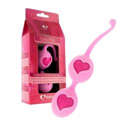 Ružové Venušine guličky Desi Love Balls FeelzToys E21148