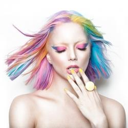 Farebné kriedy na vlasy 24 kusov