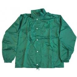 Pánska bunda zelená