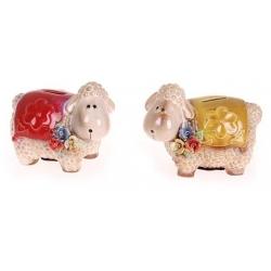 Keramická pokladnička ovečka