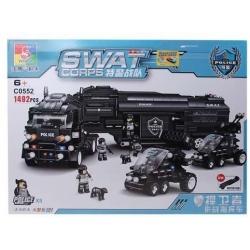 Stavebnica SWAT Kamión
