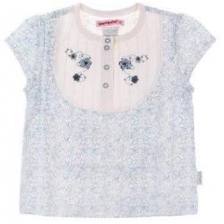 Dievčenské kvetinové tričko veľ.98
