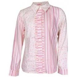 Košeľa dievčenské kvetovaná 128