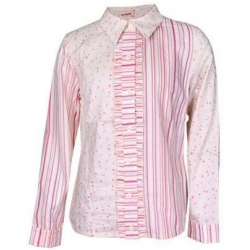 Košeľa dievčenské kvetovaná 134