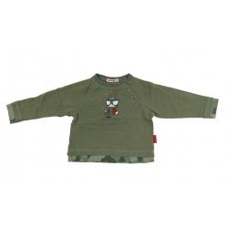 Maskáčové khaki tričko veľ. 86