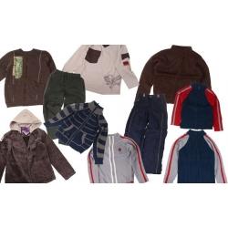 Balíček 10ks oblečenie chlapec veľ. 140