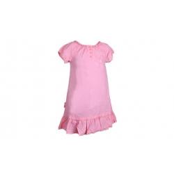 Letné ružové šaty vel. 98