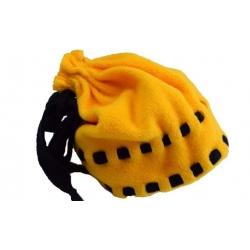 Čiapka detská fleecová žltá