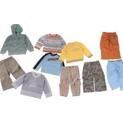 Balíček 10ks oblečenie chlapec veľ.80