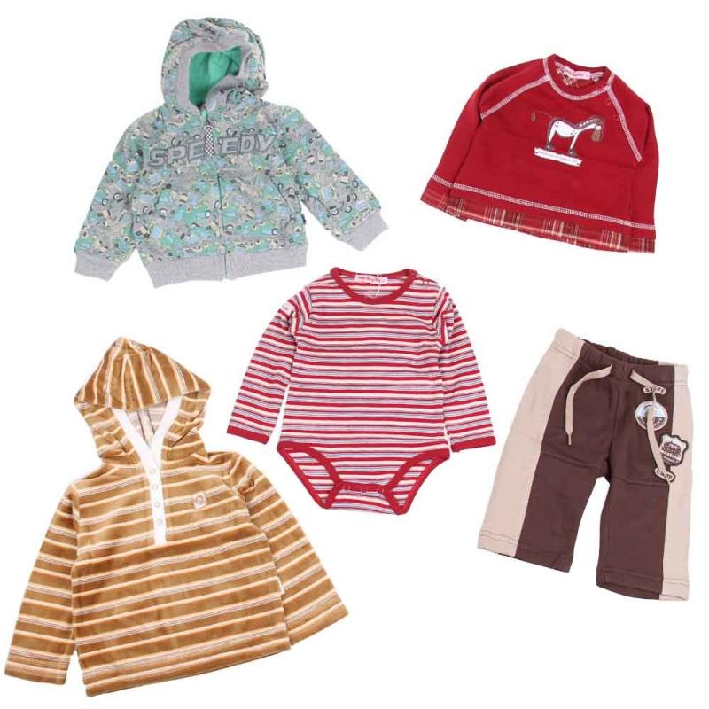 Balíček 10ks oblečenie chlapec veľ.74 0260e34121a