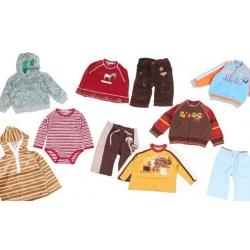 Balíček 10ks oblečenie chlapec veľ.86