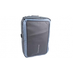 Batoh / aktovka na notebook čiernošedý