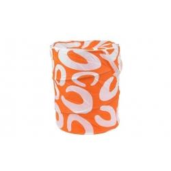 Kôš na bielizeň skladací oranžový