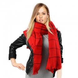 Veľký šál červený