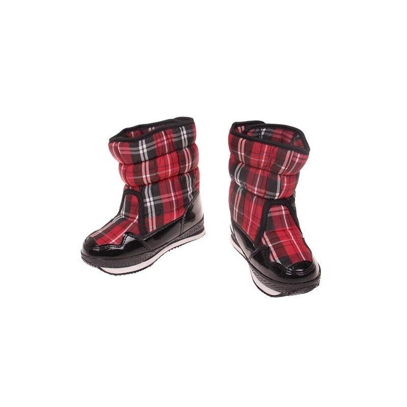 41f6835d0d04 Detské zimné topánky červené