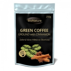 Zelená káva so škoricou  250 g