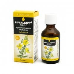 HEALTH LINK 100% BIO Pupalkový olej 50 ml