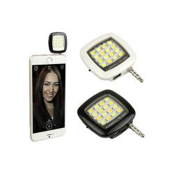Externý LED blesk na mobil