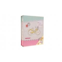 Fotoalbum Bicykel na 200 fotografií ružová