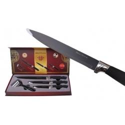 Sada 3 nožov so škrabkou
