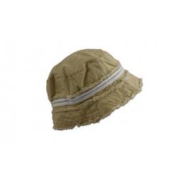 Detský klobúk žltý