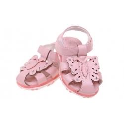 Detské sandálky blikajúce ružové vel.24