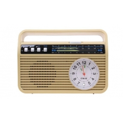 Prenosné retro rádio MK-190 žlté