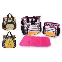 Prebaľovacia taška set 3 ks Tropical