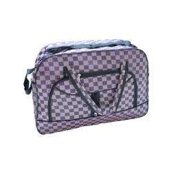 Cestovná taška šedofialová