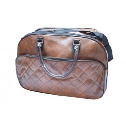 Cestovná taška tmavo hnedá