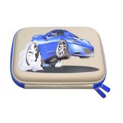 Peračník šedý 1poschodový 3D auto