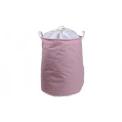 Kôš na bielizeň ružový