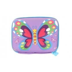 Peračník 1poschodový 3D motýľ fialový