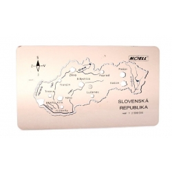 Šablóna mapa Slovenská republika